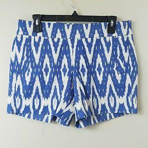 "J. Crew Factory Ikat Print 5"" Inseam Shorts"